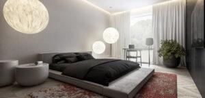 Przytulne i eleganckie mieszkanie pełne kontrastów
