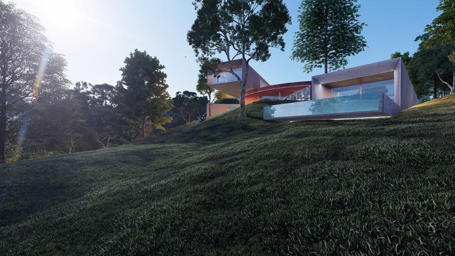 """Dom """"Machina"""". Projekt:Przemek Olczyk   Mobius Architekci"""