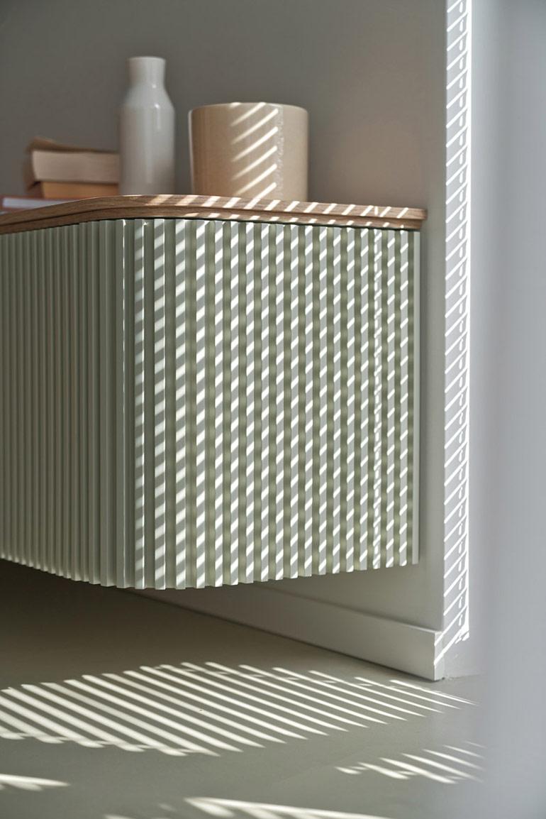 Nowoczesny design we wnętrzach mieszkania. Projekt: Zuzanna Motus | Pracownia LOQM. Zdjęcia: Tom Kurek