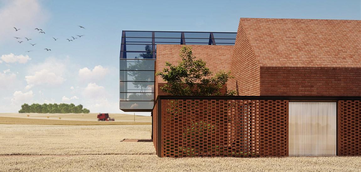 Farm House. Projekt: CORE – Człowiek | Pasja | Architektura