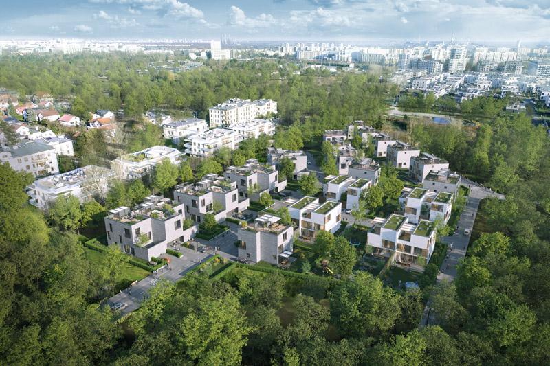 Osiedle Nova Królikarnia w Warszawie - IV Etap inwestycji. Projekt: MFRMGR Architekci
