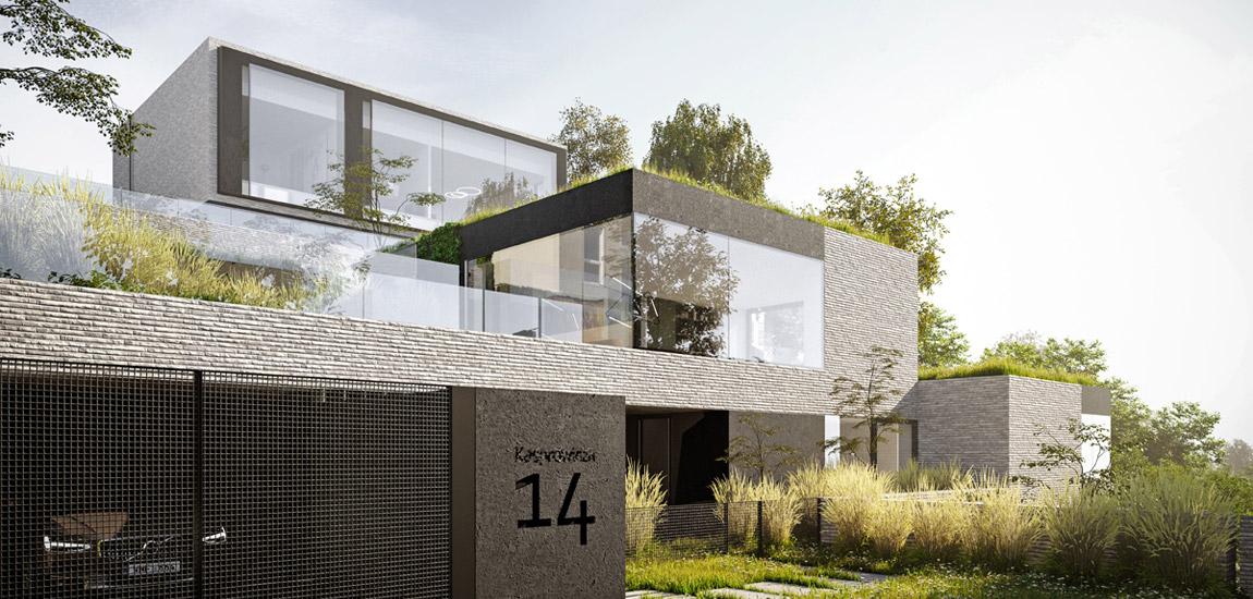 Gdyński Dom Transmodernistyczny projektu Pracowni 111