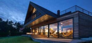 Międzynarodowa nagroda dla domu inspirowanego polską architekturą drewnianą!