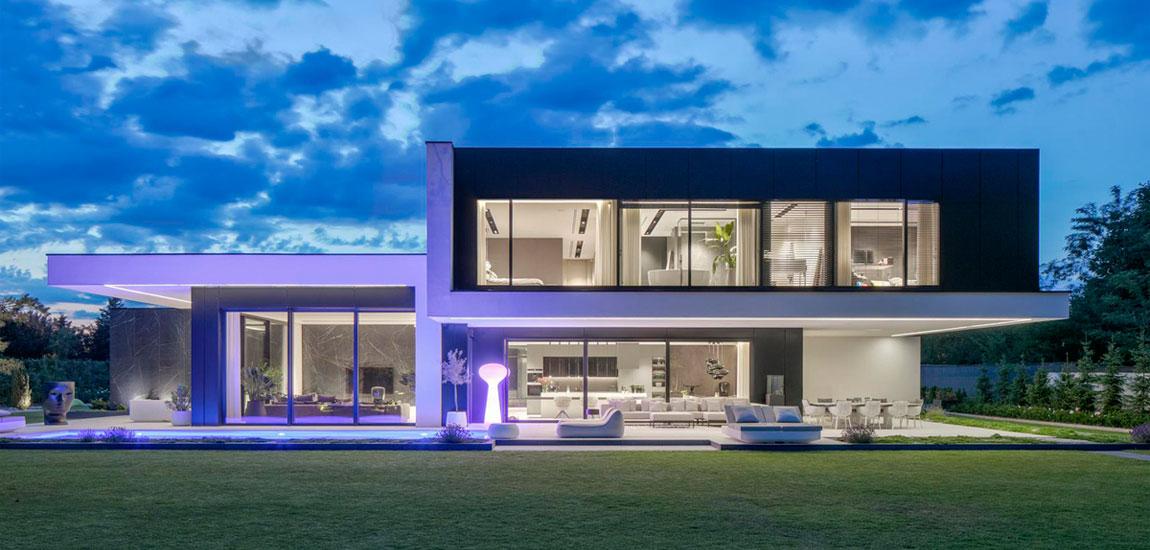 Dom RE: PERFECT HOUSE. Projekt:REFORM Architekt   Marcin Tomaszewski. Zdjęcia: Piotr Krajewski