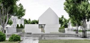 Biały dom projektu pracowni CORE
