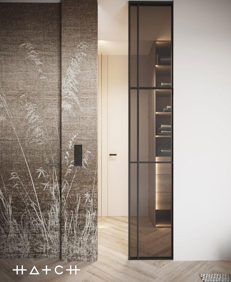 Apartament w Gdyni w stylu boho. Projekt wnętrz:HATCH Studio