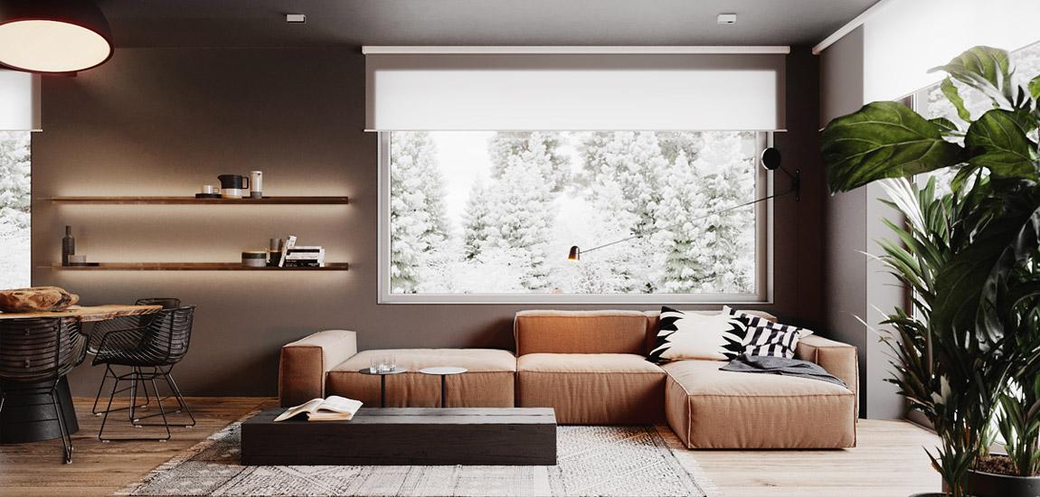 "Dom ""Lake Hill House"". Projekt wnętrz:hilight.design"