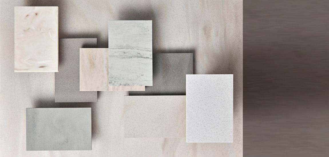 Nowe kolory Corian® Solid Surface dopasowane do światowych trendów w projektowaniu wnętrz