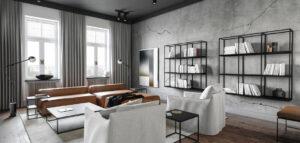 Luksusowy apartament w warszawskiej kamienicy