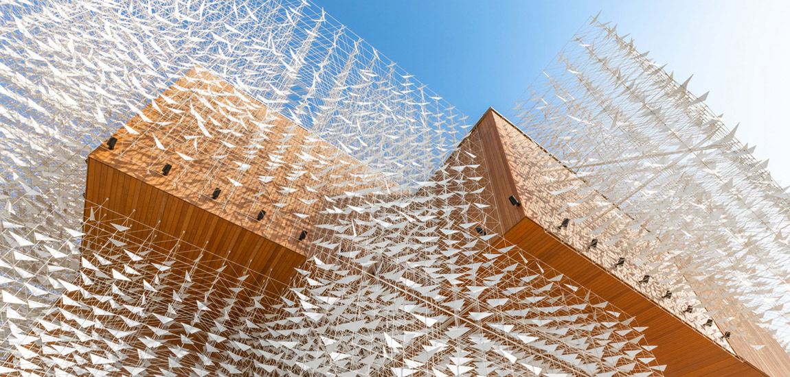 Pawilon Polski na EXPO w Dubaju - przestrzeń inspirowana naturą. Otwarcie już dzisiaj!