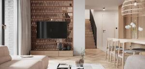 Mieszkanie z klasycznymi elementami oraz akcentami w stylu boho